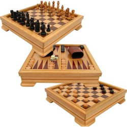 Deluxe 7-in-1 Game Set, Multicolor
