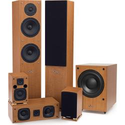 Fluance SX Series 5.1 Surround Sound Home Theater Speaker System
