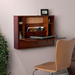 Naya Wall Mount Laptop Desk, Brown