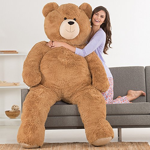 Vermont Teddy Bear – Huge Love Bear, 6 Feet Tall, Brown
