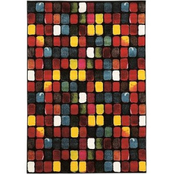 Masters MR10 Paint Box Area Rug (5′ X 7'6), Multicolored