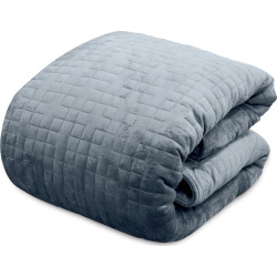Altavida 20-Pound Weighted Blanket, Grey