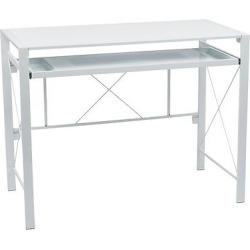 Creston Desk – White, Computer Desk