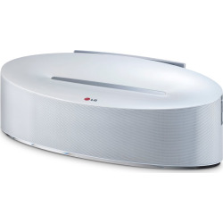 LG 30-Watt Dual Bluetooth Docking Speaker and Charging Dock, Grey
