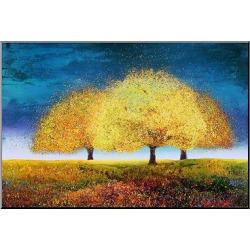 Art.com Decorative Wall Panel Dreaming Trio, Multi-Colored