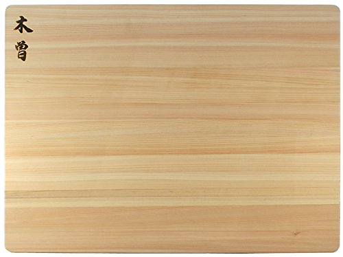 Kiso Hinoki Cutting Boards, Made in Japan – Authentic Japanese Cypress (24 x 18 x 1.5 Inch)