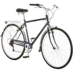 Men's Schwinn Wayfarer 700c Retro City Bike, Blue