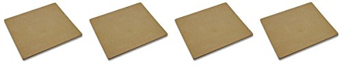 Old Stone Oven Rectangular Pizza Stone (4-(Pack))