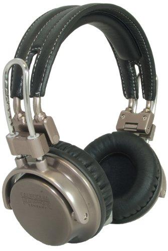 California Headphone Co Silverado Premium Over Ear Stereo Headphones w/ Detachable Cable