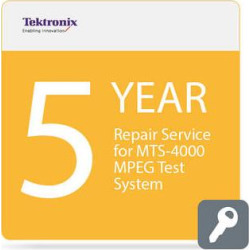 Tektronix Repair Service for MTS4000 MPEG Test System 5-Year MTS4000-R5DW