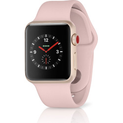 Apple Watch Series 3 Sport 42MM GPS + 4G Aluminum Rose Gold Case – Pink Sand (Pre-Owned)