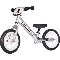 Strider 12-in. Pro Balance Bike, Silver