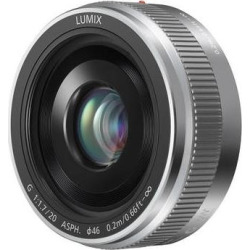 Panasonic Lumix G 20mm f/1.7 II ASPH. Lens (Silver) H-H020AS