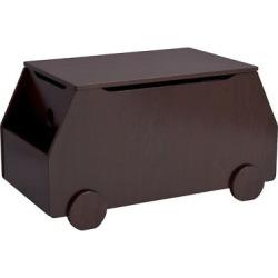 Delta Children Metro Toy Box – Espresso, Black/Brown