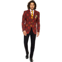 Men's OppoSuits Slim-Fit Harry Potter Suit & Tie Set, Size: 50 – regular, Red Yellow