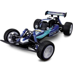 KidzTech 1:10 Remote Control Blue Jet Panther Race Car