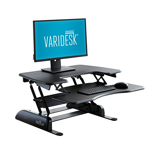 varidesk height adjustable standing desk pro plus 30 - Allshopathome-Best Price Comparison Website,Compare Prices & Save