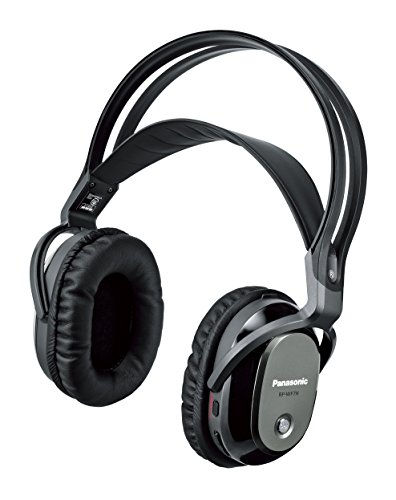 Panasonic digital wireless Surround Headphone System Black RP-WF7-K