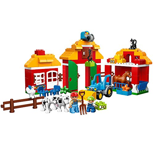 Duplo LEGO Town Big Farm 10525 Toddler Toy, Large Building Bricks