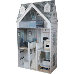 Teamson Kids Deluxe City Doll House, Multicolor