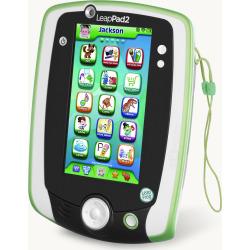 LeapFrog LeapPad 2 Power Kids' Learning Tablet w/ Batteries – Green (Refurbished)