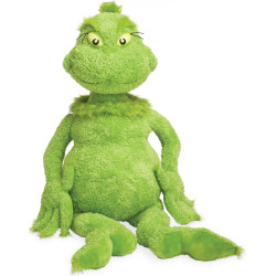 Dr. Seuss The Grinch Jumbo Plush Toy, Multicolor