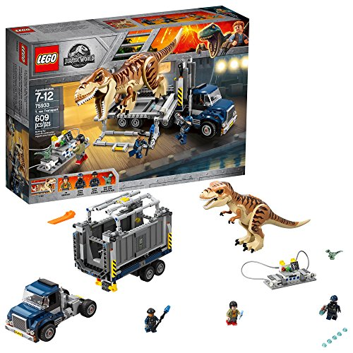 lego jurassic world t rex transport 75933 building kit 609 piece multi - Allshopathome-Best Price Comparison Website,Compare Prices & Save