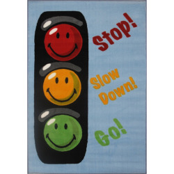 fun rugs smiley world traffic signal rug multicolor - Allshopathome-Best Price Comparison Website,Compare Prices & Save