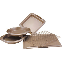 Anolon Advanced Bronze 5-pc. Nonstick Bakeware Set, Brown