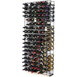 wine enthusiast 144 bottle wine rack black - Allshopathome-Best Price Comparison Website,Compare Prices & Save