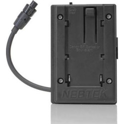 Nebtek Canon 5V DV Battery Plate with AJA Connector DV-CAN-5V-AJA