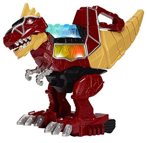 Power Rangers Bandai JUL158630 Dino Super Charge – Rumble & Roar T-Rex Zord Action Figure