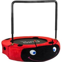 Kids Pure Fun Ladybug Jumper Trampoline, Red