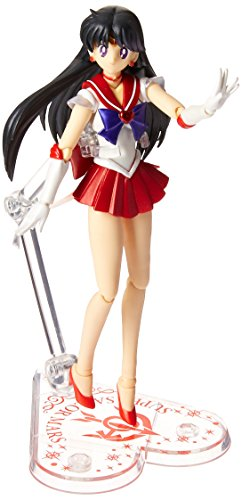 "Bandai Tamashii Nations S.H.Figuarts Super Sailor Mars ""Sailor Moon Super S"" Action Figure"