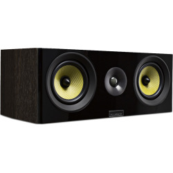 Fluance Signature Series HiFi Two-way Center Channel Speaker – Natural Walnut