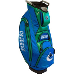 Team Golf Vancouver Canucks Victory Golf Cart Bag, Multicolor