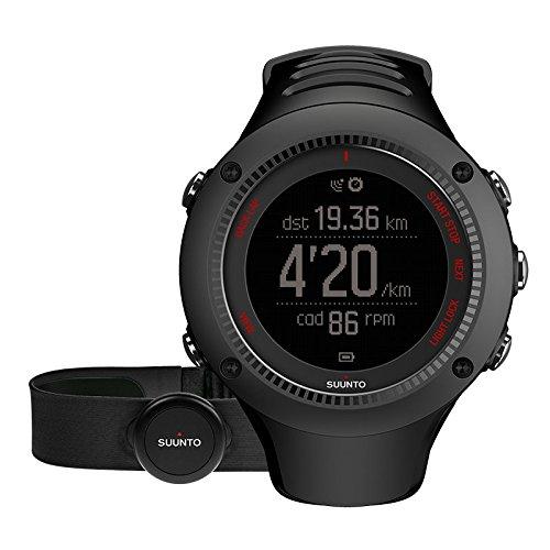 Suunto Ambit3 Run HR Monitor Running GPS Unit, Black
