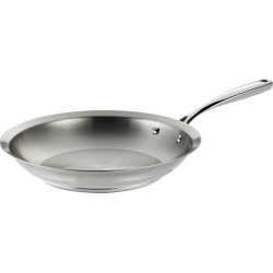 Tramontina Prima 12-in. Stainless Steel Tri-Ply Saute Pan, Multicolor