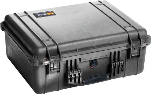 Pelican 1550 Case No Foam (Black)