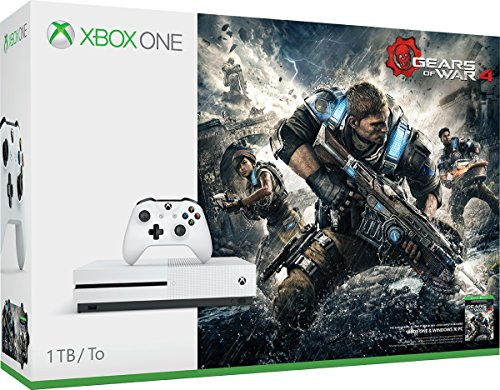 Xbox One S 1TB Console – Gears of War 4 Bundle [Discontinued]