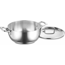 Cuisinart French Classic Tri-Ply Stainless Steel 4.5-qt. Dutch Oven, Grey