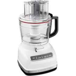 KitchenAid KFP1133 11-Cup Food Processor with ExactSlic System, White
