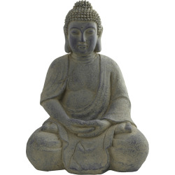 nearly natural Decorative Buddha Statue – Indoor & Outdoor, Red