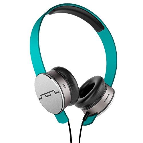 SOL REPUBLIC Tracks HD On-Ear Headphones – Turquoise (1241-26)