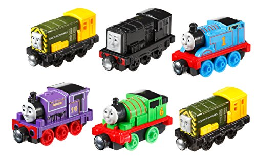 Thomas & Friends Fisher-Price Take-n-Play, Steamies vs. Diesels Engine Pack