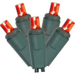 200ct Led String Lights Set EC 6Sp 100'L – Red
