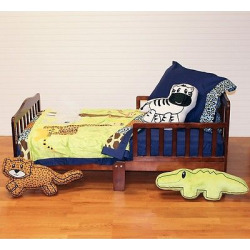 One Grace Place Jazzie Jungle Boy Toddler Set 4 Piece – Multicolor (Toddler)