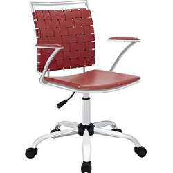Office Chair Modway Apple Red