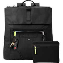 BG by Baggallini Skedaddle Laptop Backpack – Black