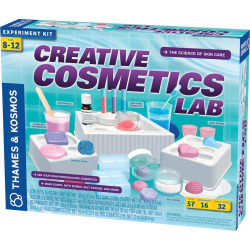 Thames & Kosmos Creative Cosmetics Lab Experiment Kit, Multicolor